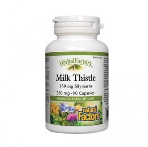 Natural Factors 내추럴 팩터스 - Milk Thistle 250mg(간 질환 보조제) 90caps