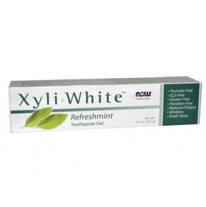 Now Foods - Xyliwhite Refreshmint Toothpaste/Gel - 나우 푸드 - 자일리화이트 리프레쉬민트 치약  - 181g