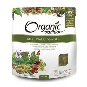 Organic Traditions -BHRINGARAJ POWDER - 올가닉 트레디션 - 브링그라즈 가루 - 200g