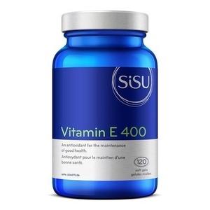 SISU - 시수 VITAMIN E 400 IU (비타민E 400 IU) 120연질캡슐