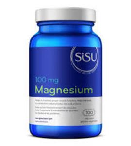 SISU - 시수 MAGNESIUM 250 MG (마그네슘 250mg) 100캡슐