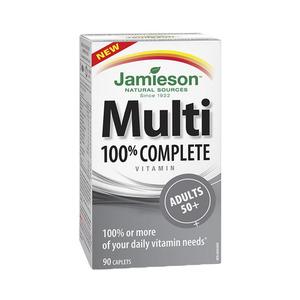 JAMIESON - Multi 100 complete adults 50+ 90cap 자미에슨 - 멀티 100 90정