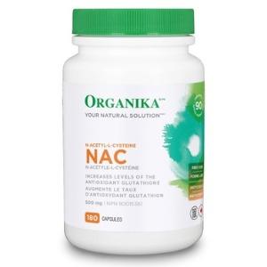 Organika(오가니카) NAC (N-아세틸시스테인) 500mg 180정