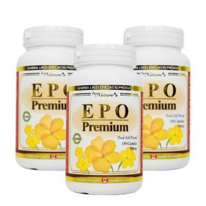 3병 특가 - 프리미엄 감마리놀렌산 Evening Primrose oil 180cap 500mg - 피엔씨 PNC