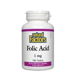 엽산 Folic Acid 1mg 90정 네추럴팩터스