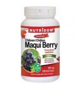 (뉴트리돔) 마큐베리 Maqui Berry 500mg 120정