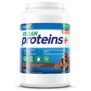 Genuine Health - Vegan Proteins+ Powder (채식주의자용 프로틴 플러스 파우더/초콜렛맛) 780 g