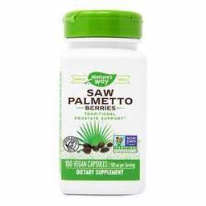 NATURE'S WAY - Saw Palmetto Berries - 100 Caps(100정)