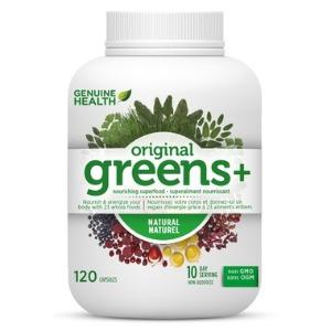 Genuine Health - Greens+ Original (멀티비타민) 120캡슐