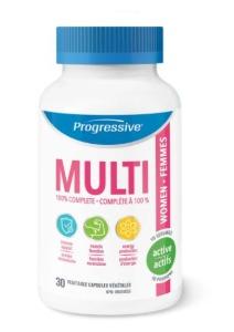 Progressive Nutirional - MULTIVITAMIN FOR ACTIVE WOMEN