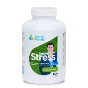 (플래티넘 네추럴스) 이지 멀티 스트레스 리커버리 비타민 남성용 120소프트젤