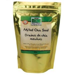 (나우푸드) 밀드 가공 치아씨드 400g Milled white chia Seed 400g