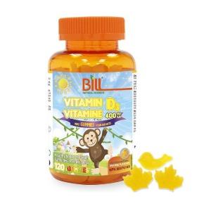 (Bill) 비타민 D3 키즈구미 120구미 - Vitamin D3 Kids Gummies