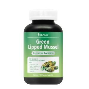 ORONIA 녹색입 홍합 (Green Lipped Mussel 180정)
