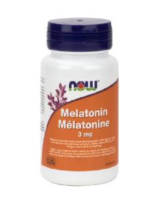 Now Foods -Melatonin 3mg -60Capsules - 나우 푸드 - 멜라토닌 3mg -캡슐