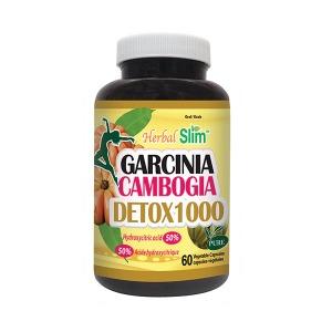 허벌슬림 가르시니아 디톡스 1000 700mg 60 식물성 캡슐 (식욕 억제/ 다이어트)