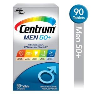 (센트룸) 멀티비타민 루테인 미네랄 90정 50세 남성
