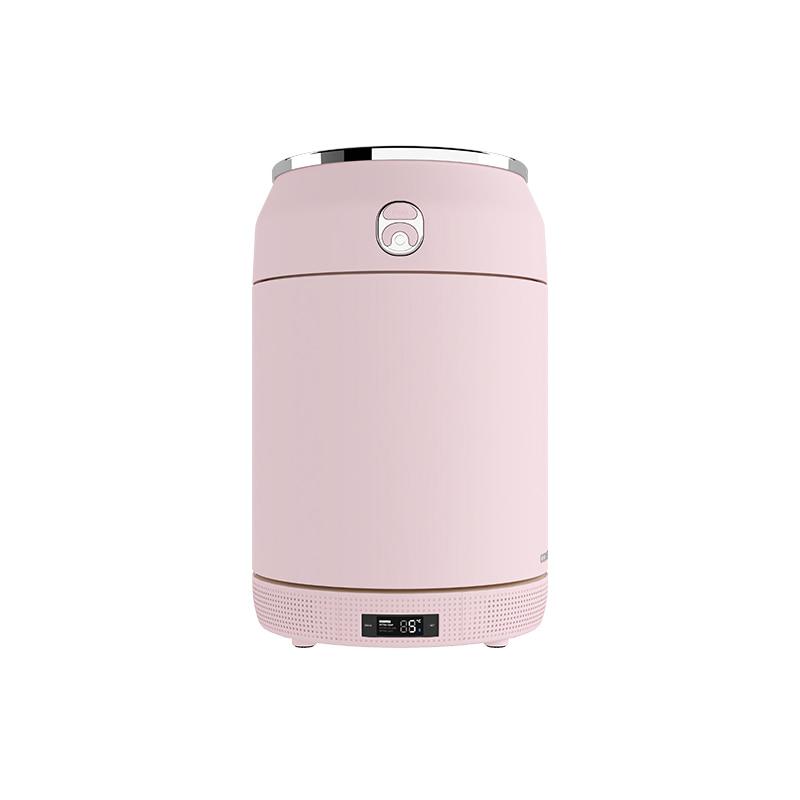 꼬모냉장고 홈바 핑크