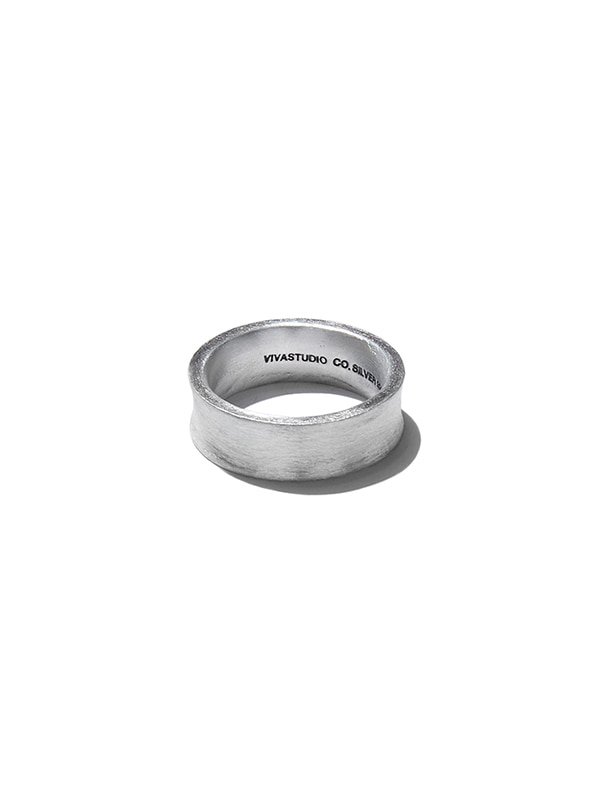 CURVED SILHOUETTE RING KS [SILVER]