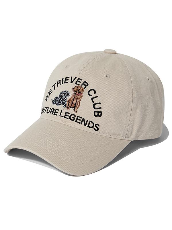 RETRIEVER EMBROIDERED CAP KS [BEIGE]