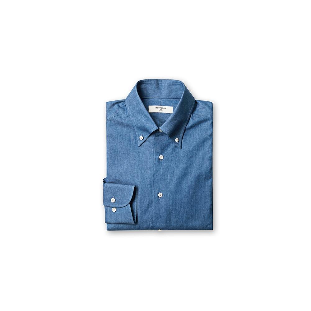 B&TAILOR RTW Denim Shirt