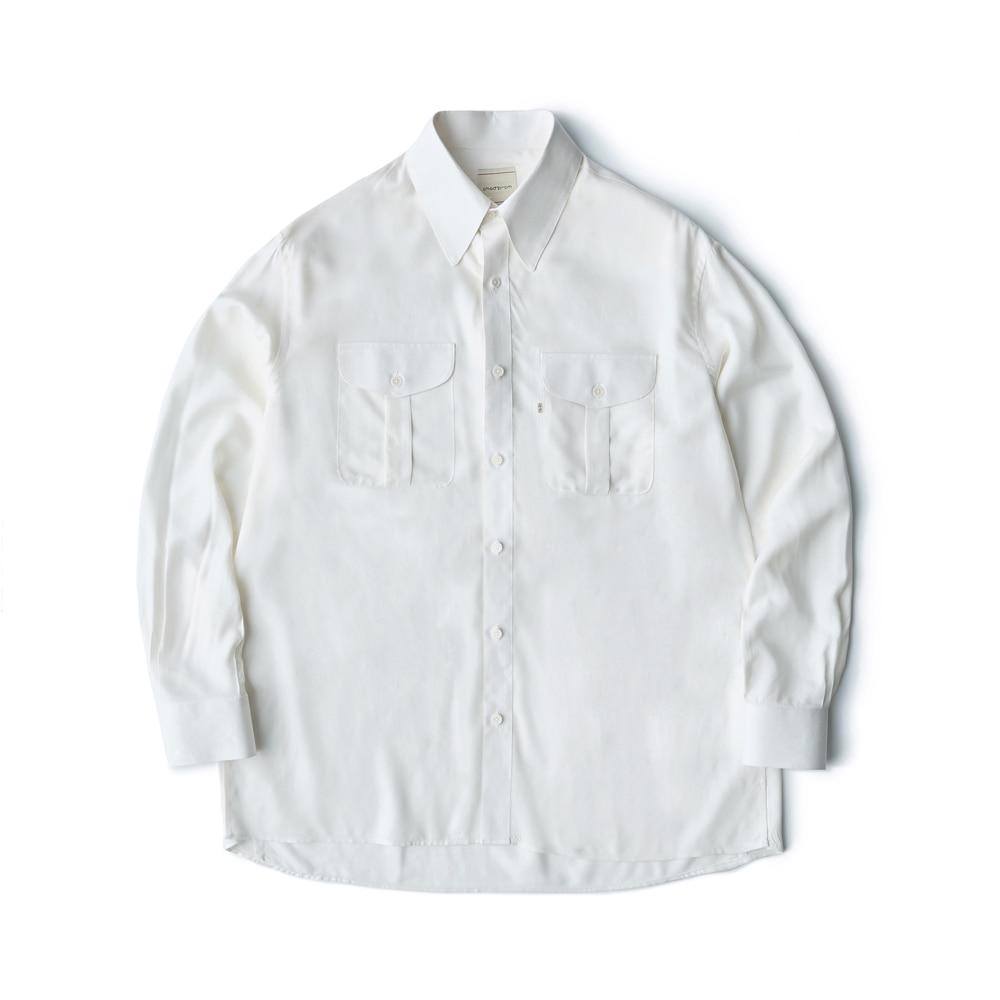 Rayon shirt - Ivory