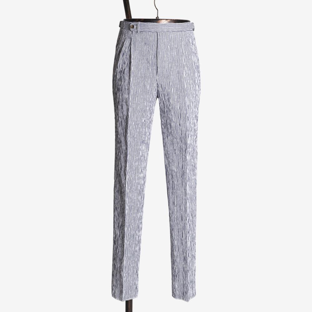 B&TAILOR RTW Seersucker Trousers