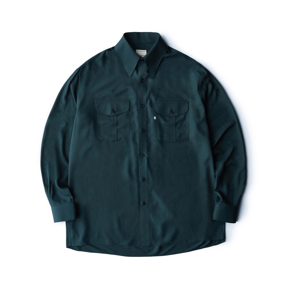 Rayon shirt - Green