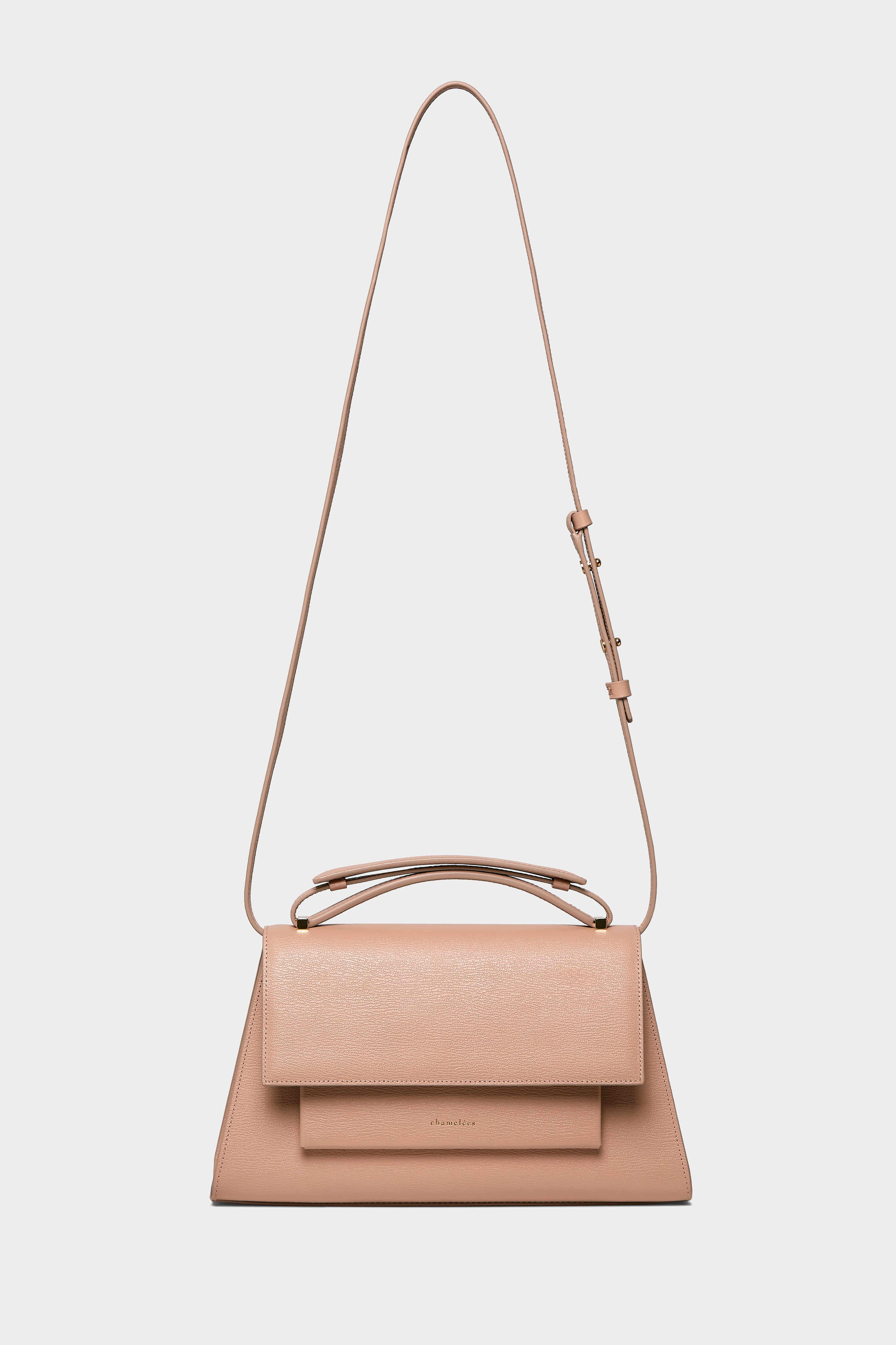 마땡백 MATIN II SHOULDER BAG IN ROSE BEIGE 챠멜리 공식 온라인 스토어 - chamelees.com