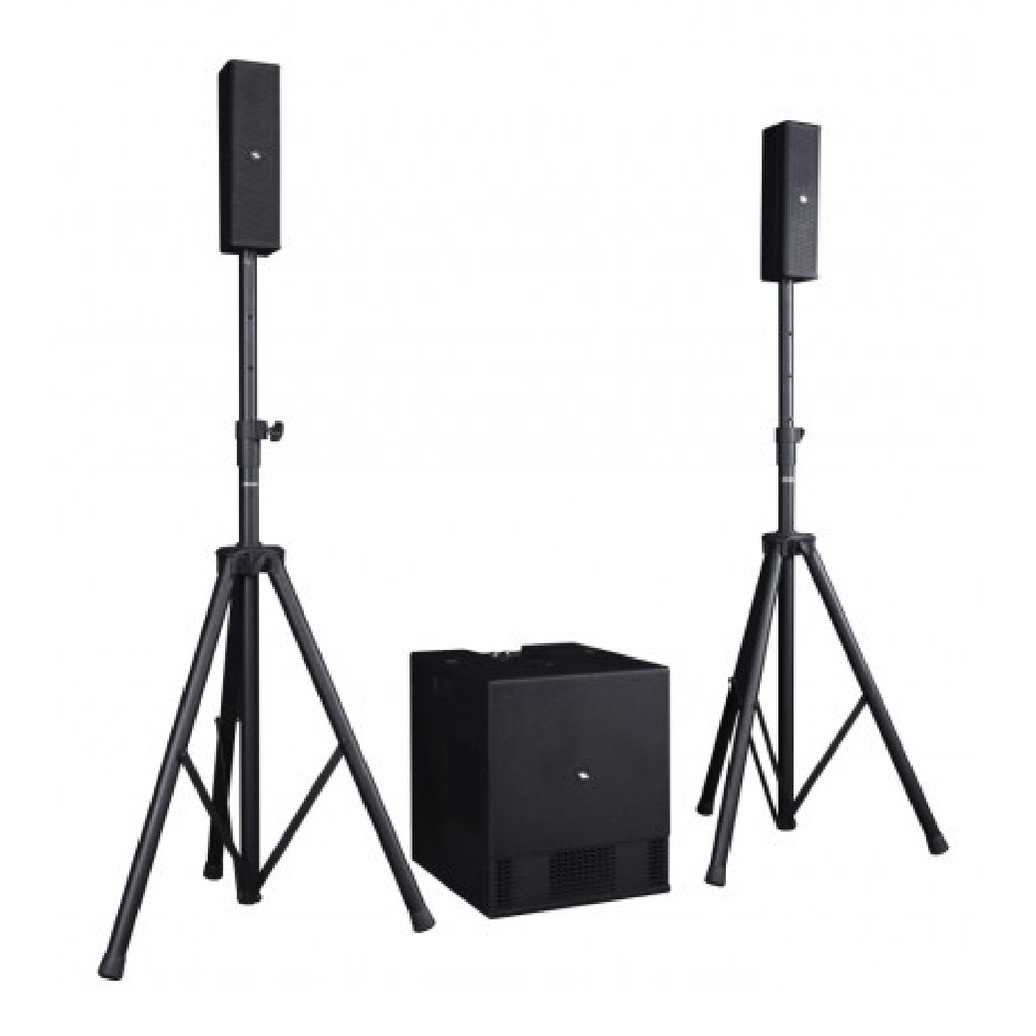 Compact Portable Array System 2.1 Processed Active System with 2 x Tops and 1 x Subwoofer   SESSION 4 proel
