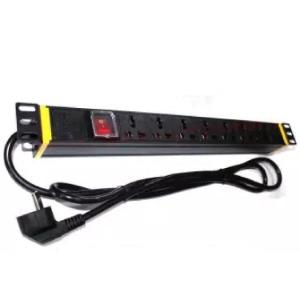 """PDU8 SLOTS , Power Distribution Unit 8 Slots Rack Mount 19"""" Power Extension , CHANNEL"""