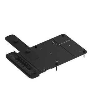PC MOUNT , Mounting bracket with Cable Retention for mini PCs and Chromeboxes , Logitech