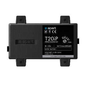 8 ohms to 100 volt Transformer: 20 - 10 - 5 - 2.5 watts , T20IP , APART