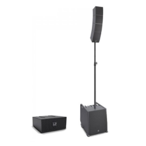 Array Speaker System with 4 Channel Mixer, DFX and Bluetooth   LD CURV 500ES PLUS LD System