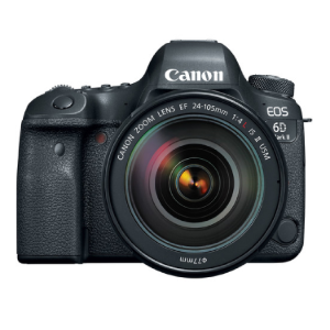 26.2 Megapixel CMOS Sensor DIGIC 7 Image Processor Full HD Video at 60 fps Digital IS 3 Inches 1.04m Dot Vari Angle Touchscreen LCD Dual Pixel CMOS   EOS 6D MII with 24-105 L IS II canon