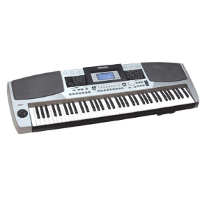 76 Full Size Keys with Touch Response, 559 Voices, 203 Styles, 60 Songs and 2 Demo Songs 64 Note Polyphony Aux Out, MIDI, USB Port   MC780 medeli