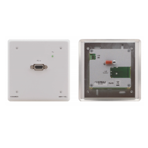 Active Wall Plate Computer Graphics Video over Twisted Pair Transmitter with EDID   WP110XL kramer