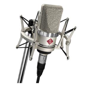 TLM 102 , Large-Diaphragm Studio Condenser Microphone (Studio Set, Black) , Neumann