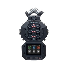 8-Input / 12-Track Portable Handy Recorder, Zoom H8