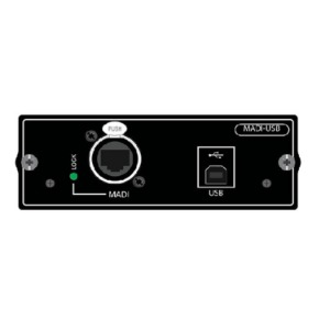 Combo Option Card for Si Series Consoles, Soundcraft MADI-USB