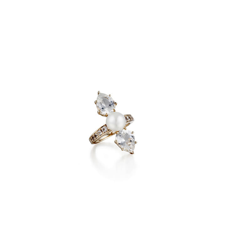 REFLECTION PEARL RING