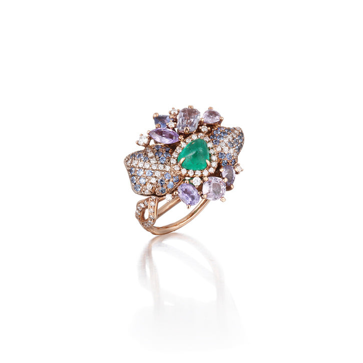 LAY IN LAVENDER RING