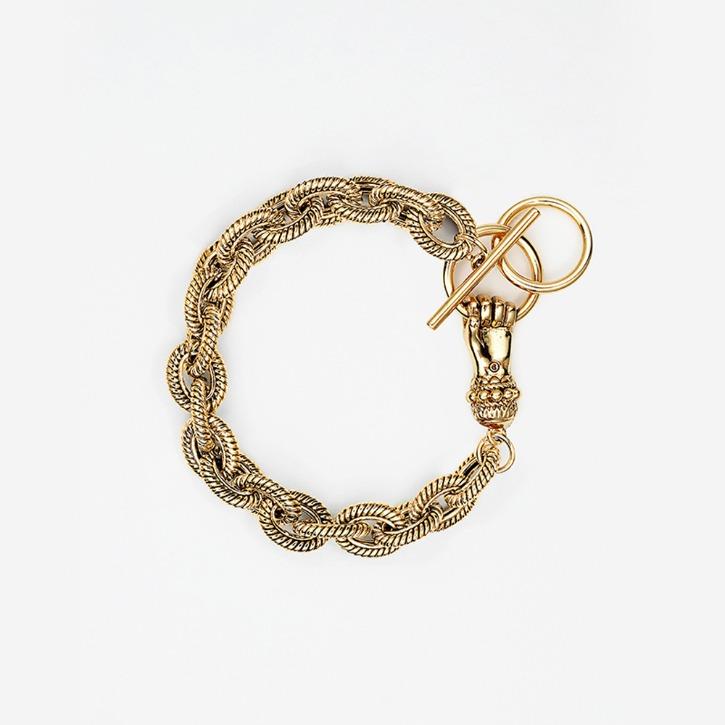GRAB YOUR EYE Hand Clasp Bracelet