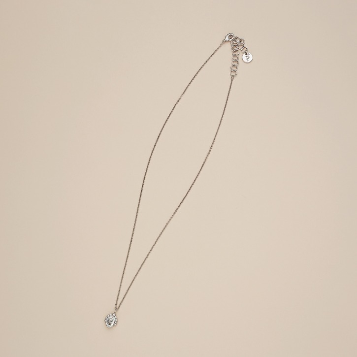 Silver Lining Single Necklace