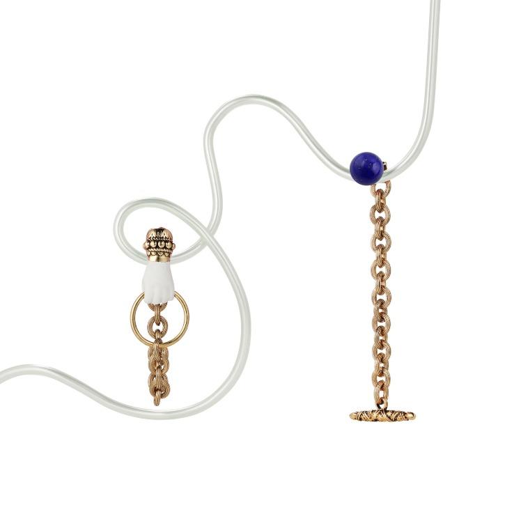 Grab Your Eye Lapis-lazuli Mismatched Drop Earring