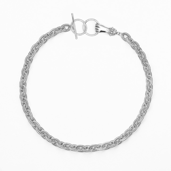 GRAB YOUR EYE Hand Clasp Necklace
