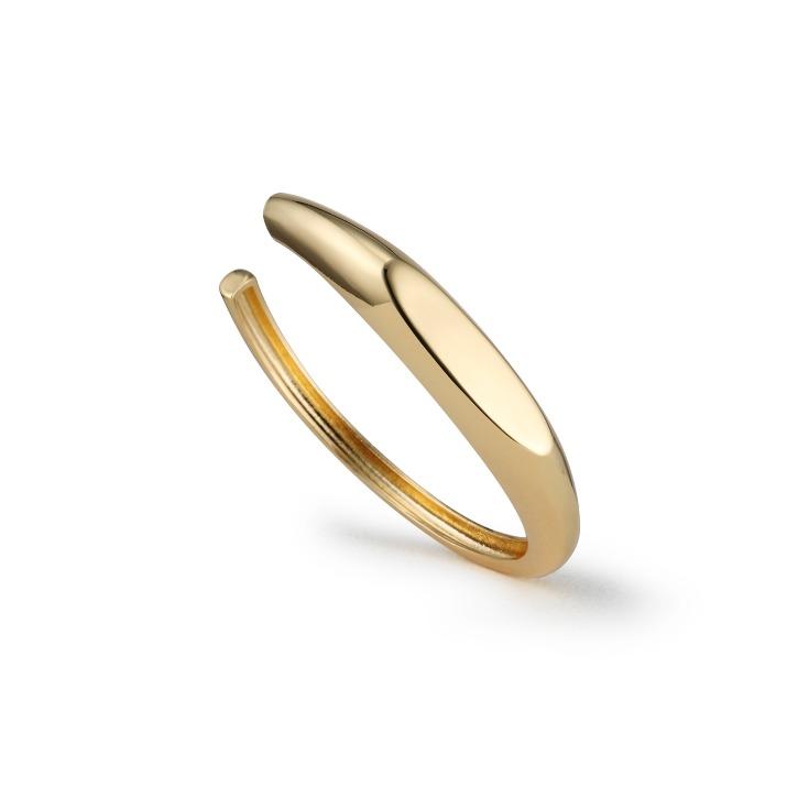 Curio Signet bangle gold
