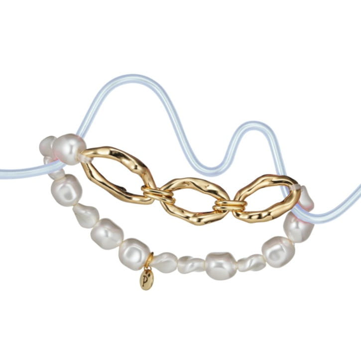 Seascape Pearl Anklet
