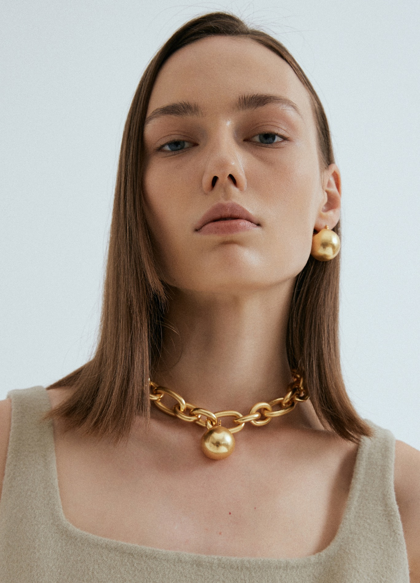 BOLD CHAIN NECKLACE - GOLD