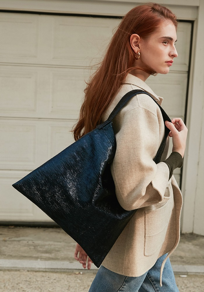 SPARKLING STYLE BAG(NAVY)
